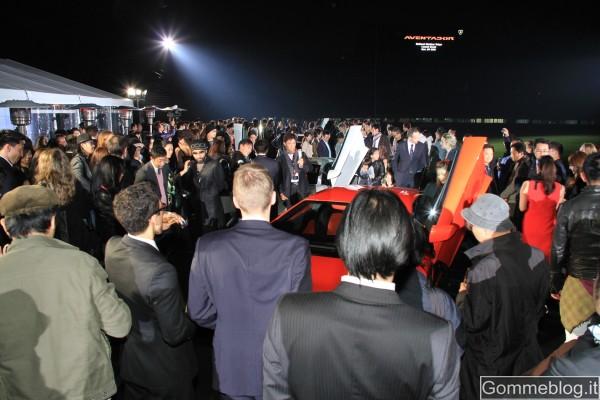 Lamborghini Aventador LP 700-4: evento spettacolare per il debutto in Giappone 3