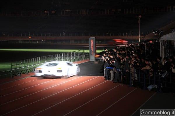 Lamborghini Aventador LP 700-4: evento spettacolare per il debutto in Giappone 2
