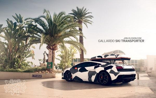 Lamborghini Gallardo LP560-4 Camouflage