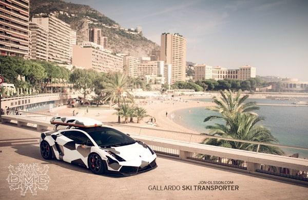 Lamborghini Gallardo LP560-4 Camouflage 3