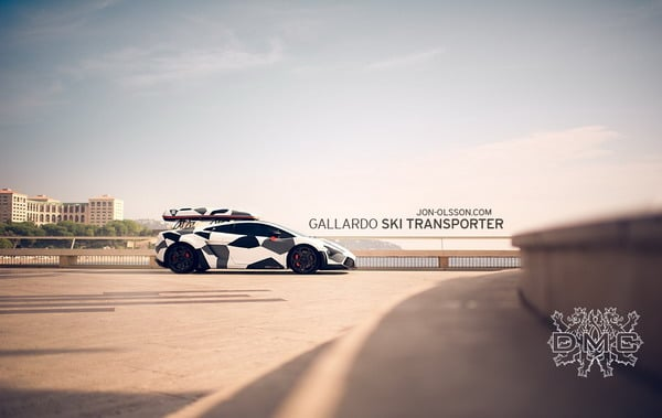 Lamborghini Gallardo LP560-4 Camouflage 2