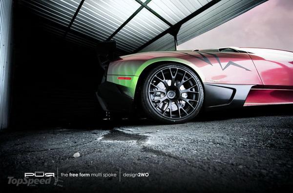 Lamborghini Murcielago LP670-4 SV: opera d'arte su 4 ruote by Pur Wheels 2
