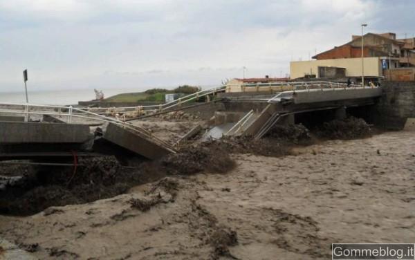 Alluvione Sicilia: il SUD è in ginocchio. Attenzione a Strade e Frane