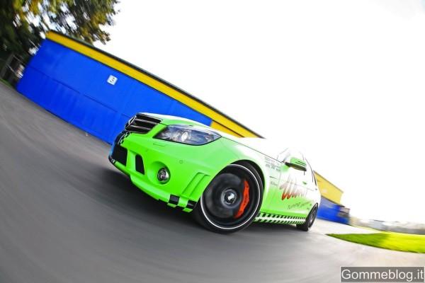 Mercedes C63 AMG: Wimmer RS la porta a 329 Km/h