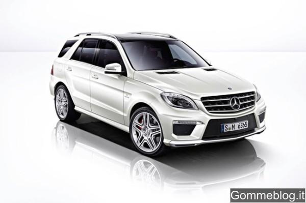 """Nuova Mercedes ML 63 AMG: cerchi da 21"""" e 557 CV per volare a 280 Km/h 2"""