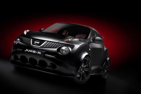 Nissan Juke-R: nuove foto ufficiali