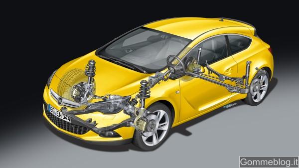 Opel Astra GTC: sospensioni e cerchi pensati per … curve perfette
