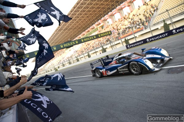 Peugeot non parteciperà alla 24 Ore di Le Mans 2012