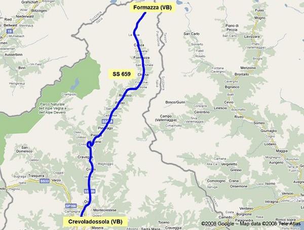 Maltempo Piemonte. Chiusa strada statale 659 per allerta idrogeologica