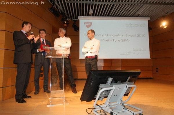 """Ducati: è Pirelli il vincitore del """"Best Product Innovation Award 2010"""" 2"""