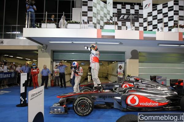 Formula 1: così Hamilton ha vinto il GP di Abu Dhabi