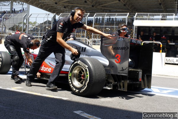 Formula 1 2012: a Jerez si testano i nuovi pneumatici F1 Pirelli 2012 1