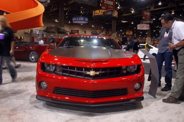 SEMA 2011: la Chevrolet Camaro è per la seconda volta l'auto più Hot