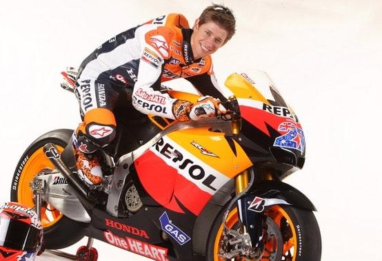 """MotoGP Valencia: Casey Stoner, """"correre per onorare Marco Simoncelli"""""""