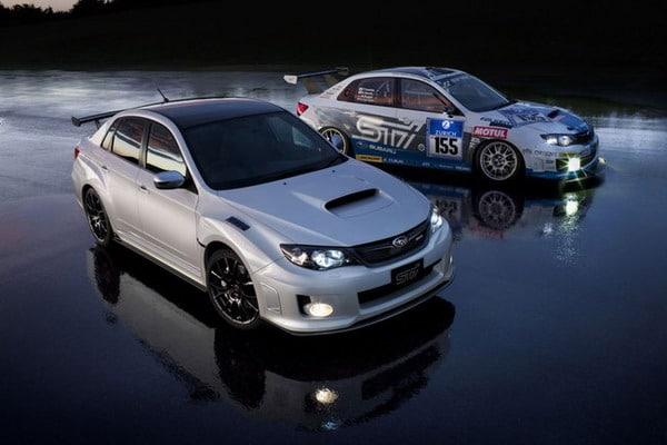 Michelin Pilot Super Sport e 320 CV per la Subaru WRX STi S206 1