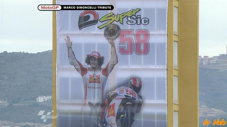 MotoGp: a Valencia nessun Champagne ma tanta voglia di onorare Marco Simoncelli 2