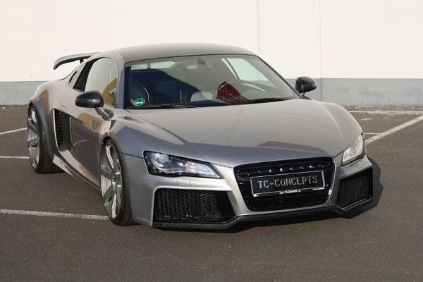 Audi R8 Toxique: quando la fibra di carbonio diventa … arte