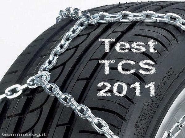 """Test catene da neve: TCS promuove le """"classiche"""" e boccia gli """"spray"""""""