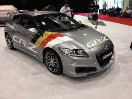 SEMA 2011: Honda Mugen CR-Z-Limited, una belva ibrida su cerchi da 17 pollici 4