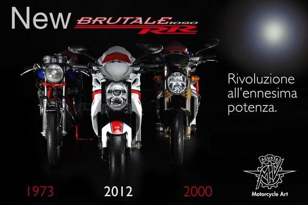 Nuova Brutale RR 1090: una Superbike senza carena a EICMA 2011