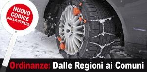 ordinanze pneumatici invernali