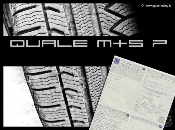 Pneumatici M+S ed il Libretto di Circolazione