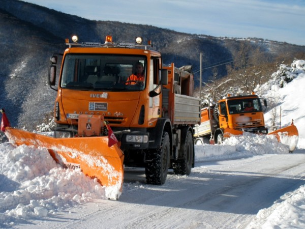 Anas: Allerta Neve Ghiaccio: NO in viaggio senza pneumatici invernali o catene