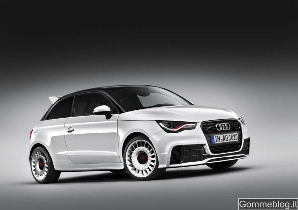 Audi A1 Quattro: con 256 CV e la trazione integrale sfida la sorella S3 2