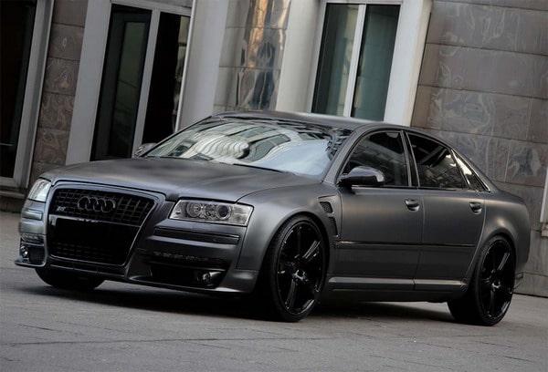 Audi A8: Anderson ne presenta una versione che farebbe invidia a Batman