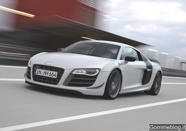 Audi R8 GT: estremamente leggera per prestazioni straordinarie 2