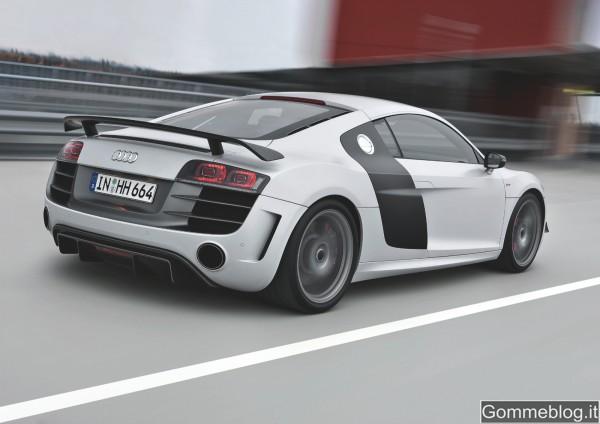 Audi R8 GT: estremamente leggera per prestazioni straordinarie 4