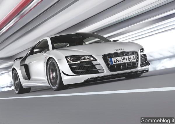 Audi R8 GT: estremamente leggera per prestazioni straordinarie