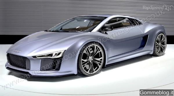 Audi R8: tutta nuova nel 2014