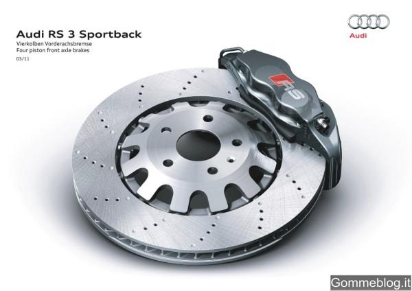 Audi RS3 Sportback: Tecnica e Performance di questa compatta con 340 CV 7