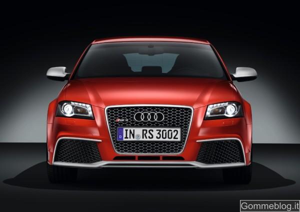 Audi RS3 Sportback: Tecnica e Performance di questa compatta con 340 CV 8