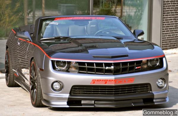 Chevrolet Camaro 2SS Convertible: 580 CV grazie a Geiger Cars 2