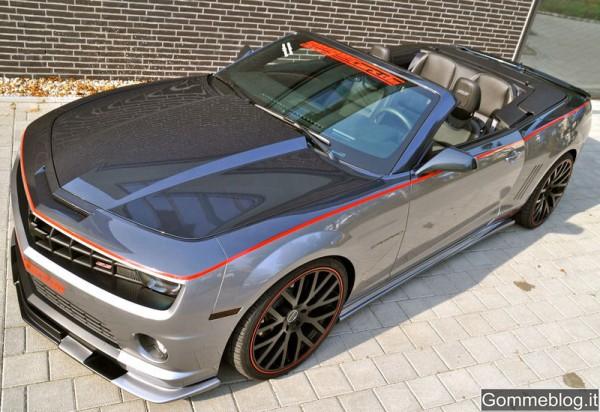 Chevrolet Camaro 2SS Convertible: 580 CV grazie a Geiger Cars