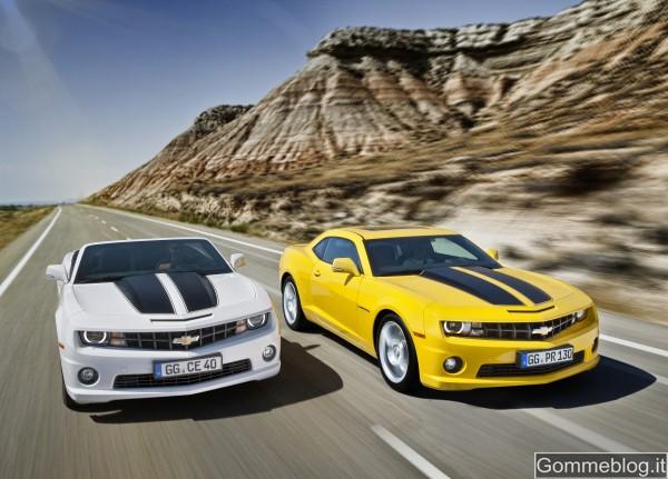 Chevrolet Camaro: Ritorna la leggenda su cerchi da 20 e freni Brembo