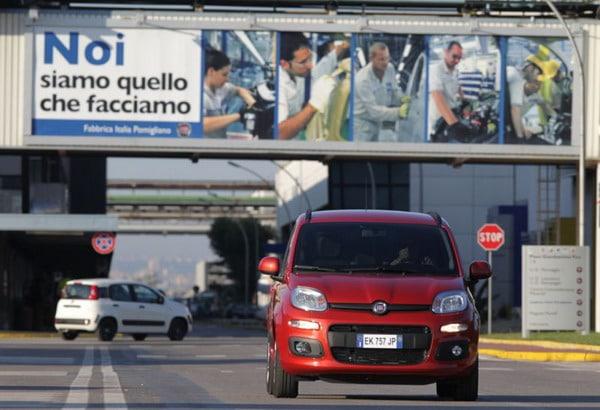 Nuova Fiat Panda: frena da sola .. se tu non lo fai