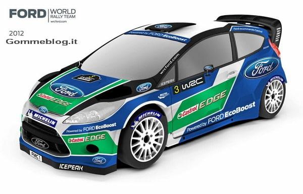Ford presenta la nuova squadra per il Campionato del Mondo di Rally 2012 – 2013
