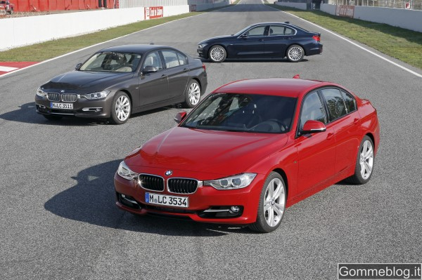 "Nuova BMW Serie 3 berlina: ""Perfect Movement"" 3"