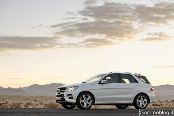 """Mercedes Classe M: analizziamo da vicino il nuovo SUV della """"Stella"""" 5"""