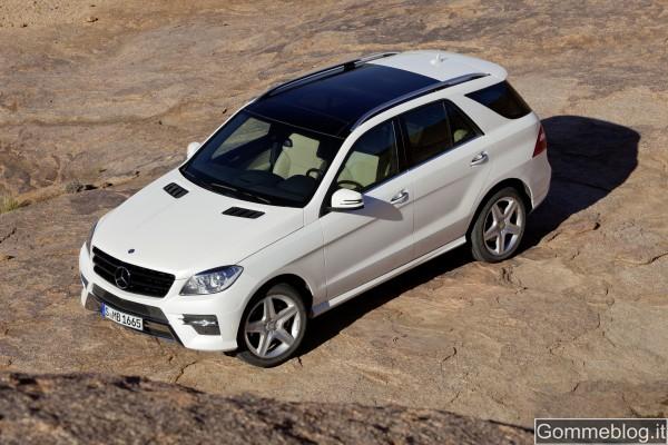Mercedes Classe M: Il TÜV Süd conferma l'elevata ecocompatibilità del nuovo ML
