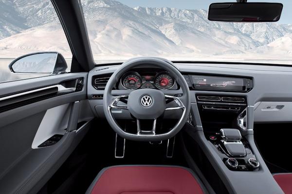 Volkswagen Cross Coupé: Una coupé tra i SUV compatti 6