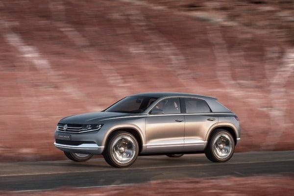 Volkswagen Cross Coupé: Una coupé tra i SUV compatti 4