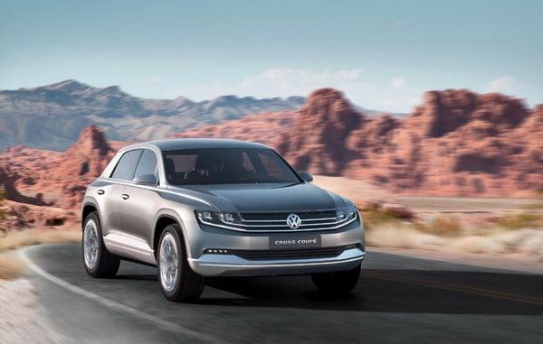 Volkswagen Cross Coupé: Una coupé tra i SUV compatti 3