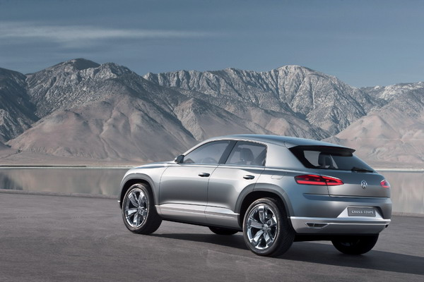 Volkswagen Cross Coupé: Una coupé tra i SUV compatti 5
