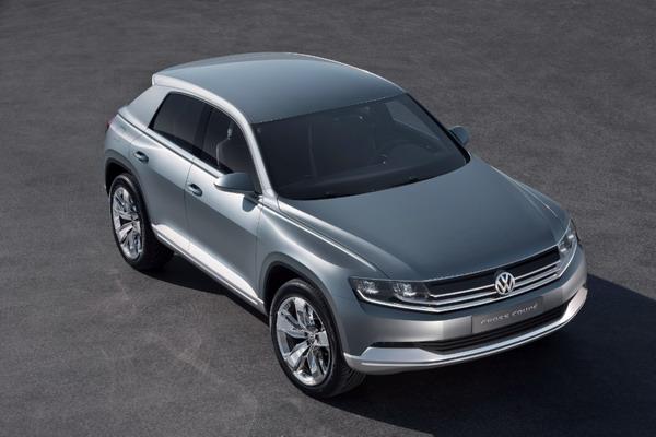 Volkswagen Cross Coupé: Una coupé tra i SUV compatti 8