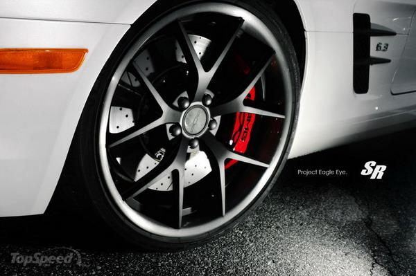Mercedes SLS AMG: SR Auto la rende ancor più sportiva 2