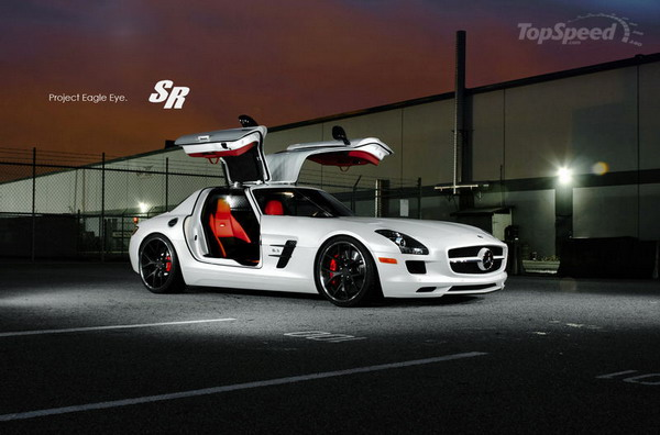 Mercedes SLS AMG: SR Auto la rende ancor più sportiva